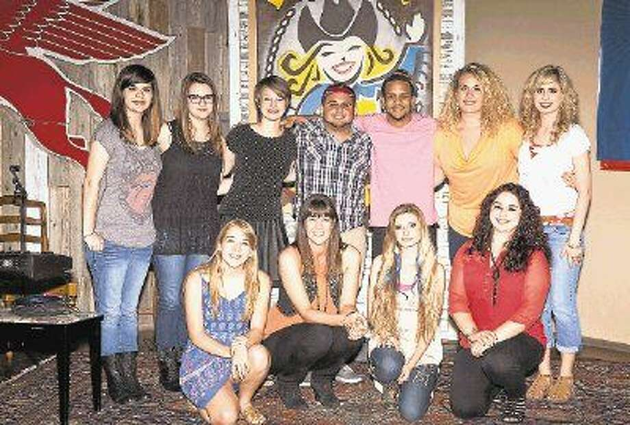 Courtesy photoMusically talented students in Montgomery County gathered over the summer for a music and vocal showcase at Dosey Doe Music café on FM 1488 in Conroe.
