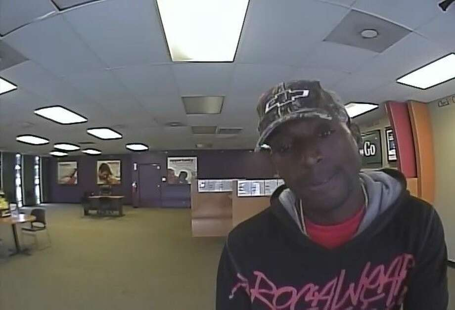 Pasadena police are looking for this suspect believed to be involved in two separate robberies on April 21.