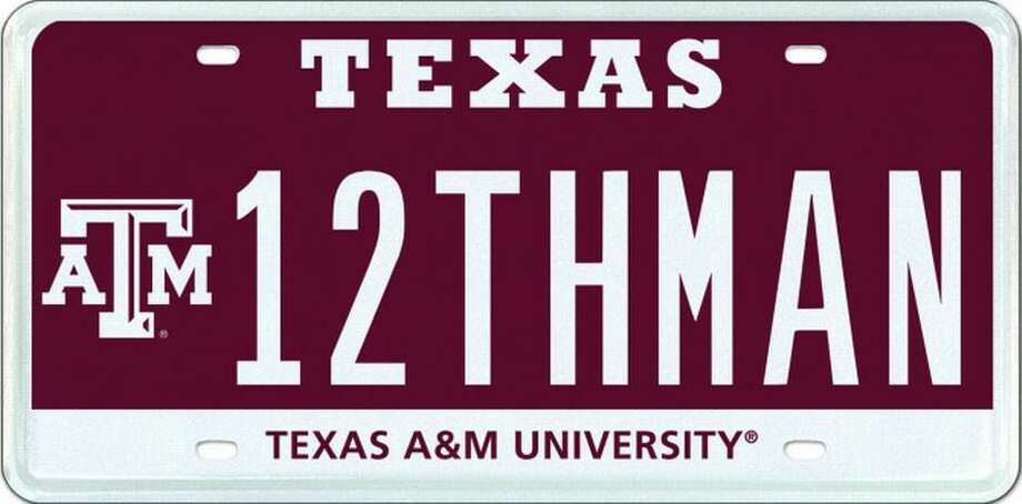 The 12THMAN license plate sold for $115,000 in September 2013, making it the most expensive plate message in Texas.
