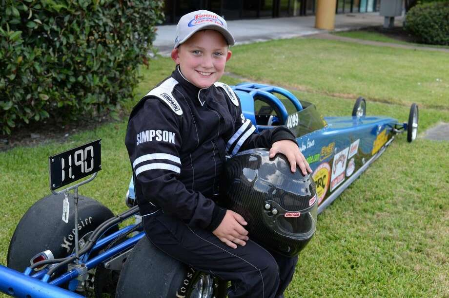 A third generation race car driver, Landon models himself on legendary John Force, and drives for his late grandfather.