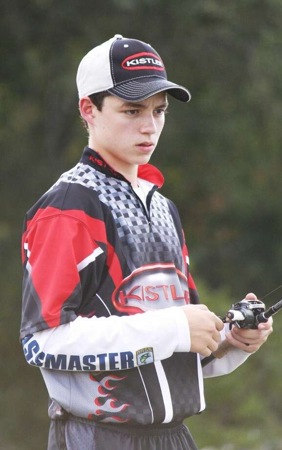Photo submittedCameron Carter, an freshmen at Magnolia West, recently landed a sponsorship with custom fishing manufacturer Kistler Custom Fishing Rod Corporation. Photo: Submitted