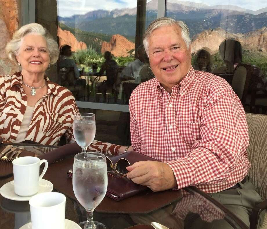 Willie Carl and his wife on vacation in Colorado Springs. Carl was diagnosed with Parkinson's disease eight years ago and went through Celltex's stem cell therapy in Cancun Mexico.