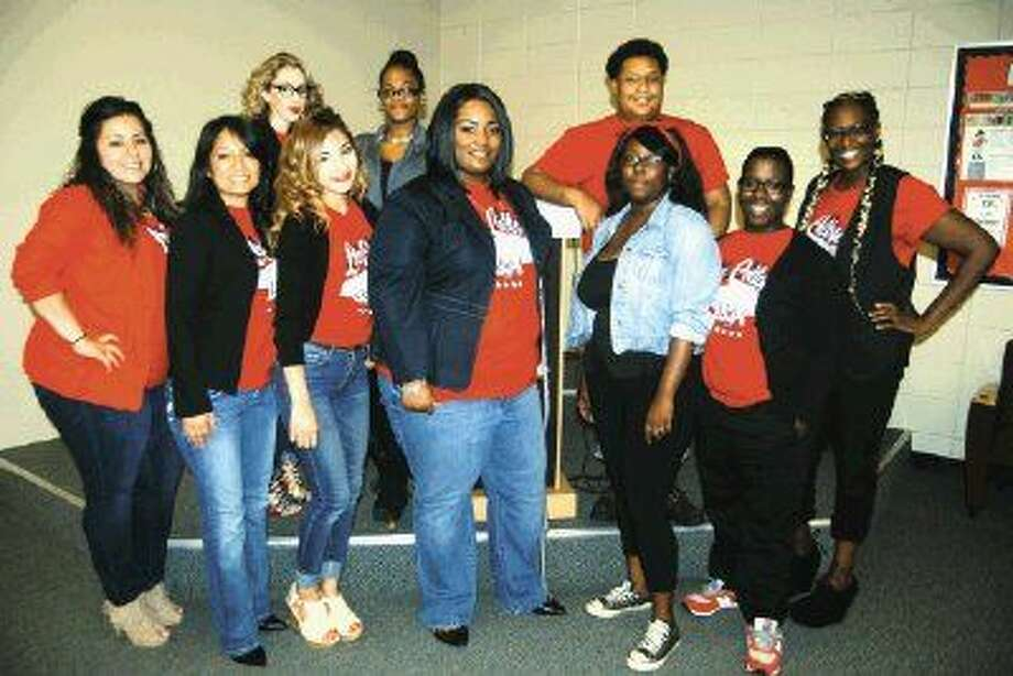 Eleven students graduated this summer from the Lee College Project Leeway program. Pictured in the bottom row, from left to right, are Teresa Aguirre, Ana Garcia, Diana Corona, Brandy Alfred, Latahja Braxton, Brenda Culton and Mary Hebert. Pictured in the top row, from left to right, are Blanca Loza, Deanisha Fontenelle and LaKiarra Collins. Not pictured is Elizabeth Estrada.