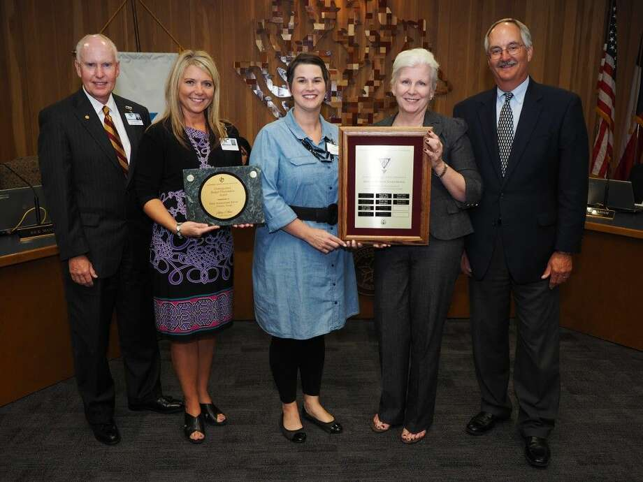 At the August 10 Board meeting the Budget department was recognized for its 10th consecutive Meritorious Budget Award for Excellence and its ninth consecutive Distinguished Budget Presentation Award. Photo: Submitted Photo