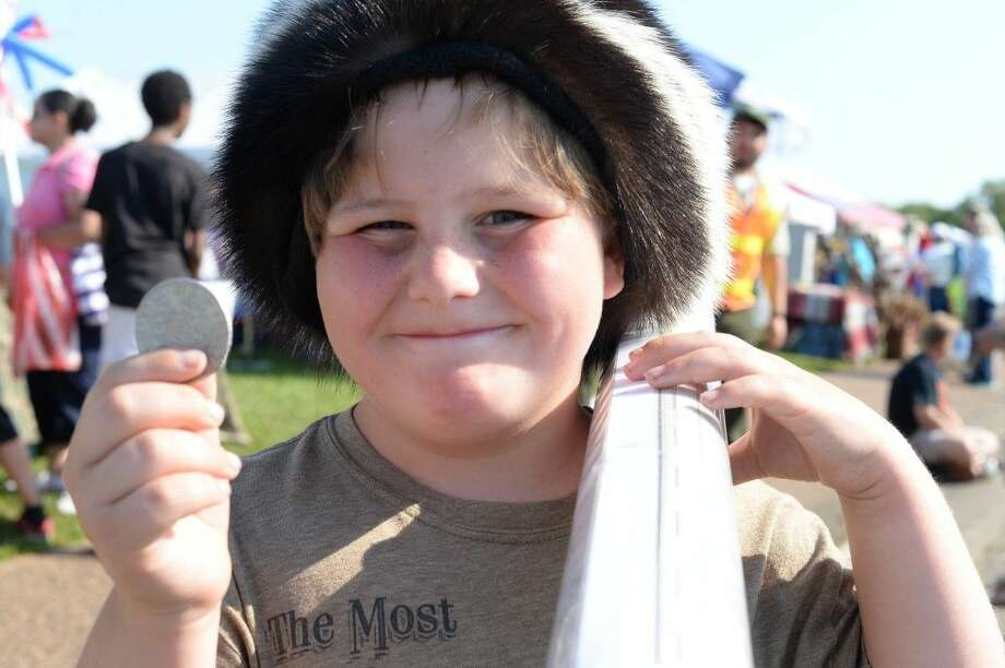 Eight-year old Henry Cardwell found what he was looking for. The avid Texas history buff discovered a few treasures at Saturday's festival.