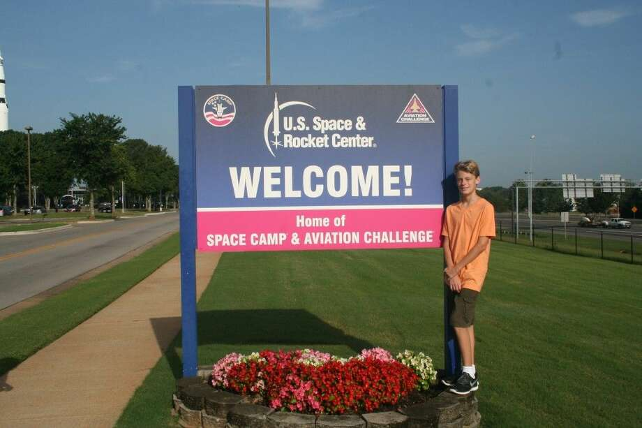 Eric Bretherton of Humble, recently attended Space Camp at the U.S. Space and Rocket Center, NASA's official Visitor Information Center for Marshall Space Flight Center.
