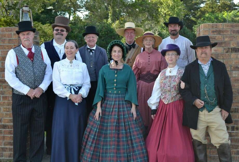 SubmittedThe Liberty County Historical Commission is hosting its Second Annual Ghost Tour in the Liberty Catholic Cemetery on Oct. 25-26. The event is the commission's annual fundraiser for projects in historic preservation in the county. Pictured are last year's re-enactors. Photo: Submitted