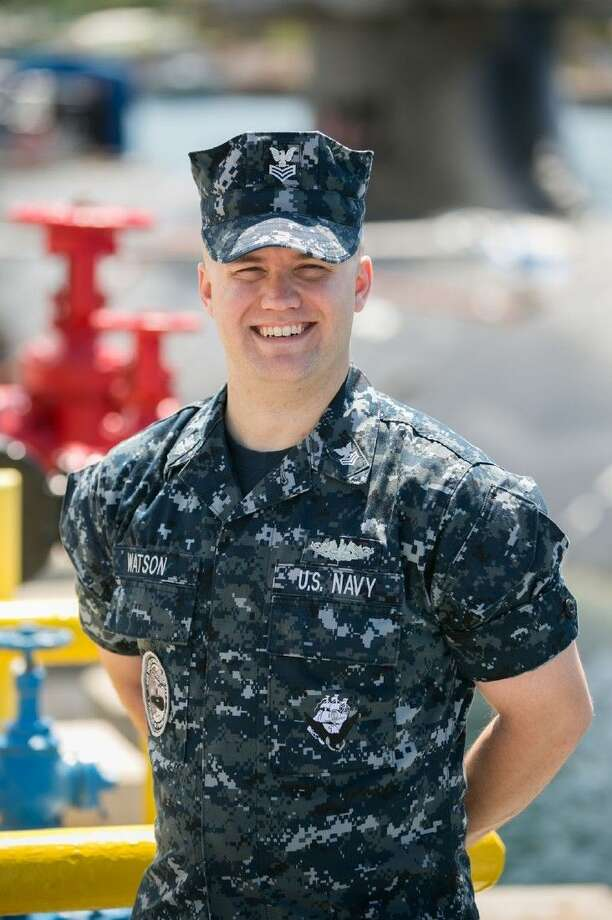 Petty Officer 1st Class Kevin Watson is an electronics technician (submarine, communications) aboard the Pearl Harbor-based boat, one of only 12 Virginia-class attack submarines in the Navy's fleet.