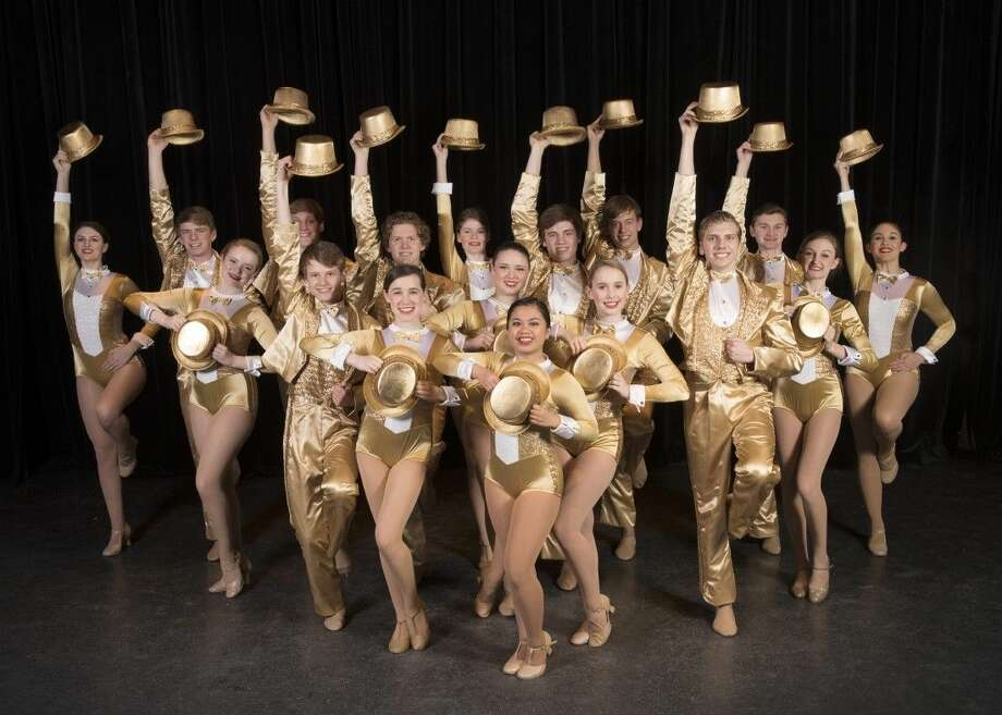 Stratford Playhouse students are preparing for their upcoming show, A Chorus Line. The shows are April 28, 29, 30 at 7:30 and May 6, 7 at 7:30 with two Saturday matinees April 30 and May 7 at 2:30 p.m. Pictured from left, front row, Michaela Barroga; second row, Maddie Dyer and Marlina Brown; third row, Grayson Hart, Dani Greene, and Collins Rush; fourth row, Isobel Makin, Phillip Bevers, Colton Slaughter, and Reilly Lawrence; back row, Anna Langlois, Griffin Sink, Ben Howell, Rachel Harsley, Matt Hopper, Cameron Saims, and Noelle Flores.