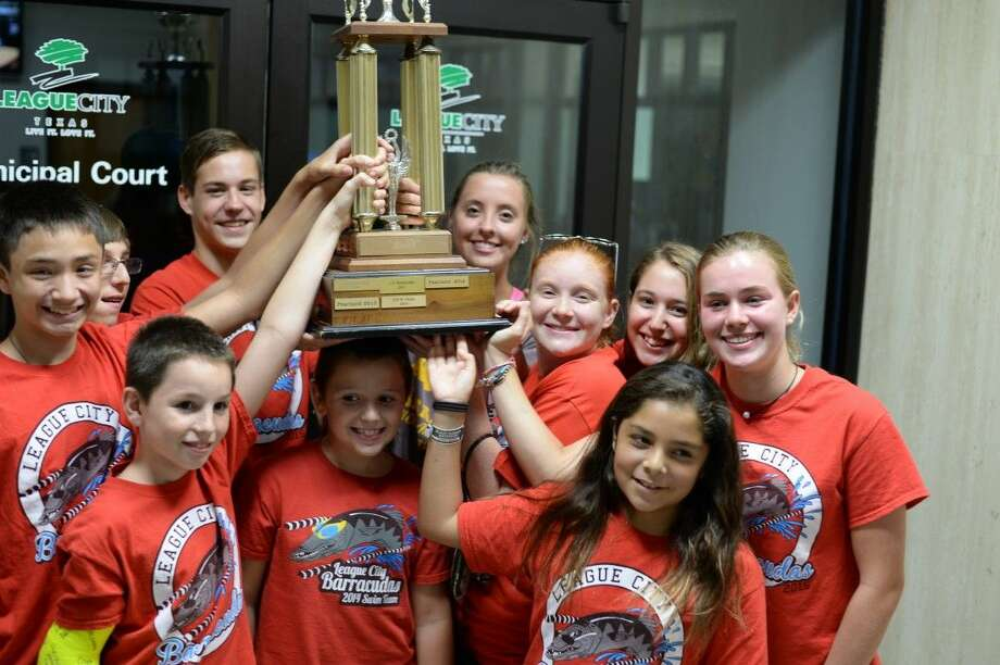 The League City Barracudas won it all at a recent championship meet. Ending the season with a 10-4 division record.