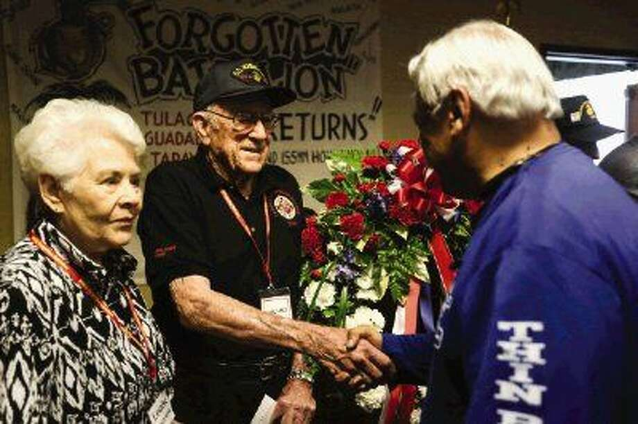 Forgotten Battalion honored Artillery legends of WWII reunite