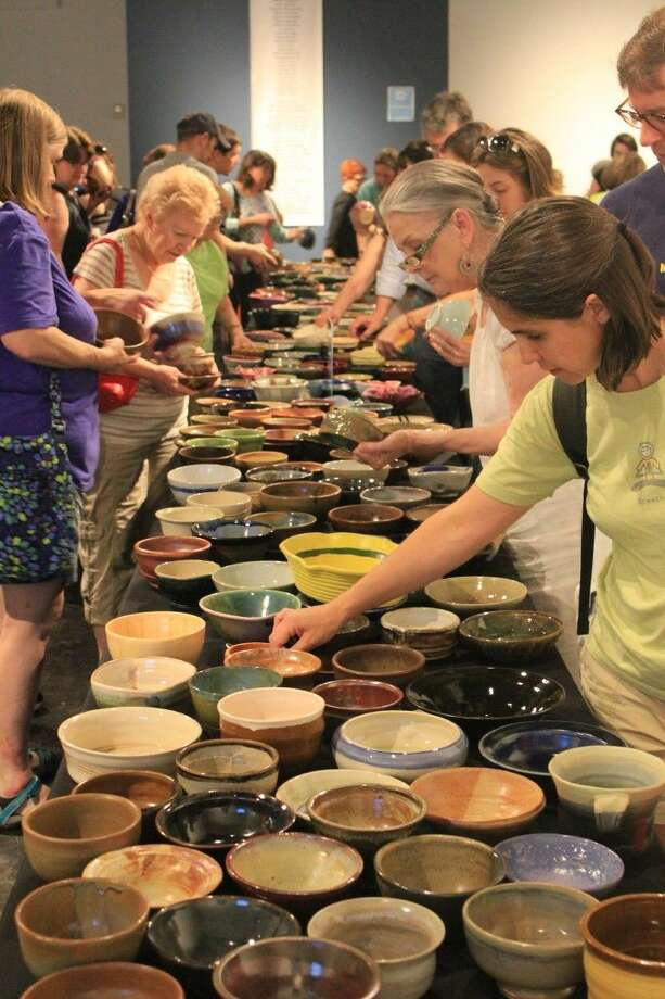 Empty Bowls lunch fundraiser will be held Saturday, May 14, and is a collaboration between Houston area ceramists, woodturners and artists working in all media and Houston Center for Contemporary Craft. Photo: Courtesy Photo