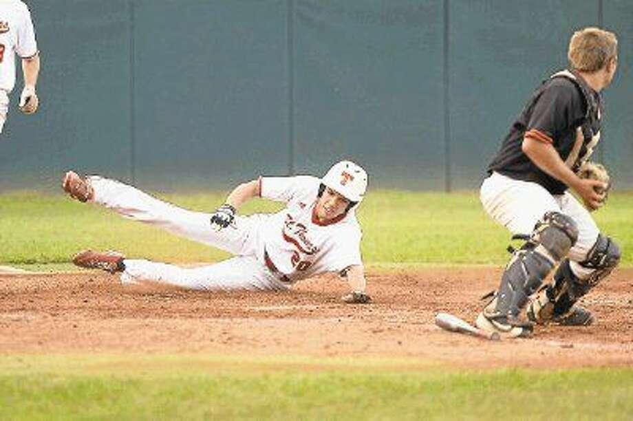 The St. Thomas varsity baseball team is undefeated this season. (27-0) Photo: Craig Moseley