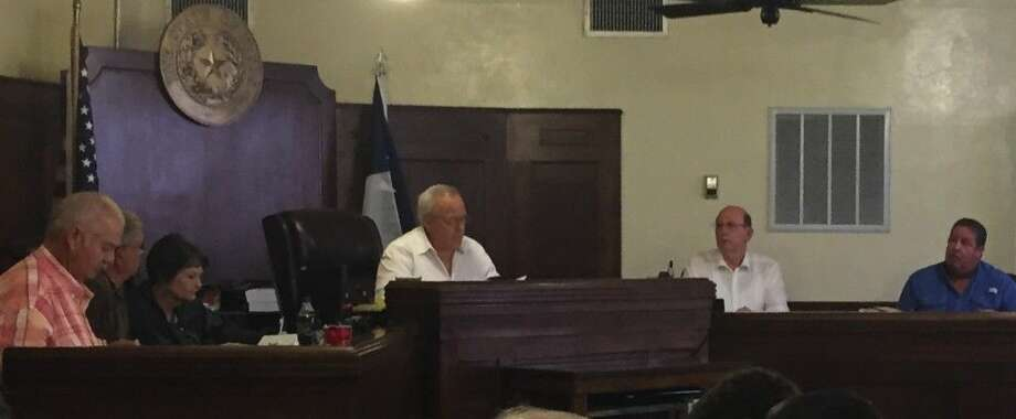 Liberty Commissioners met in executive session Thursday, Aug. 20, to talk over the bids received for operating the county jail. They will take up the matter again at their next meeting on Tuesday, Aug. 25. Photo: Casey Stinnett