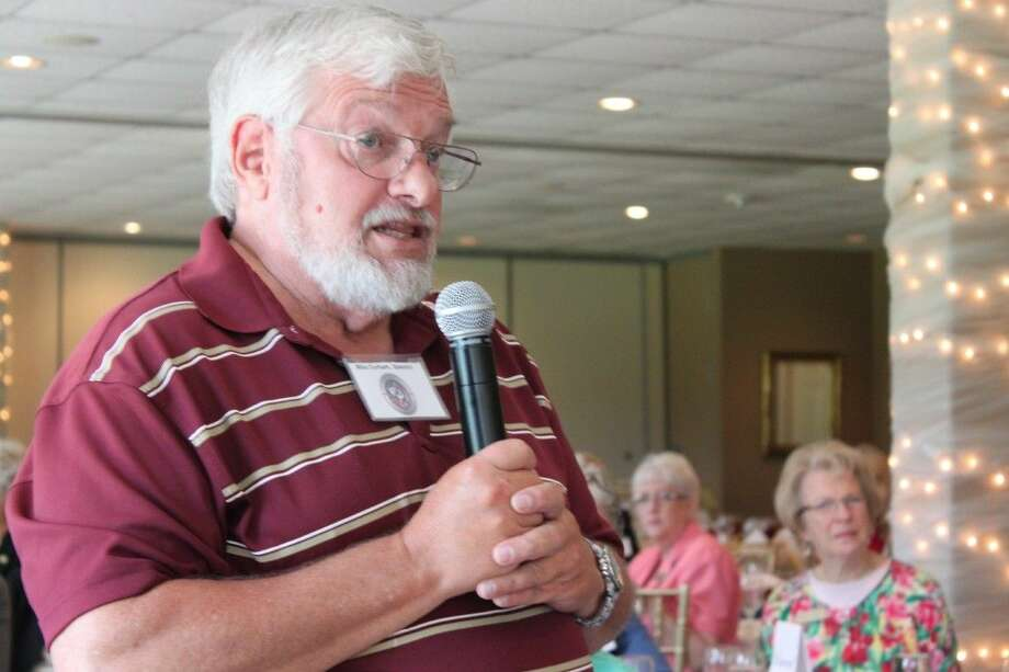 Mike Durham, Adjunct Professor of Government at Lone Star College-Montgomery presented a preview of the four-part series on the Supreme Court at the MCRW meeting on Thursday at the River Plantation Country Club in Conroe.