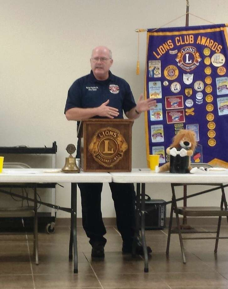 Staff photo by Stephanie BucknerCleveland Fire Chief Brian McNevin shared some of his visions for the future of the department with the Cleveland Lions Club on Tuesday, Sept. 16. Photo: Staff Photo By Stephanie Buckner