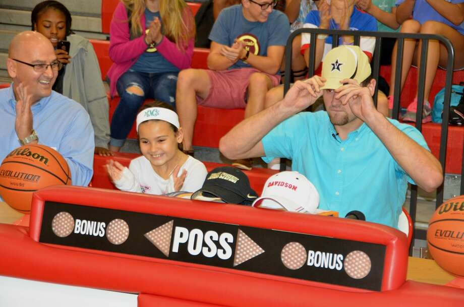 Joined by his family, Cy Woods' Samir Sehic verbally committed to Vanderbilt on Tuesday. The 2015 forward is ranked No. 145 overall by Rivals and joins a solid class for the Commodores. Photo: Joel Weckerly/CFISD