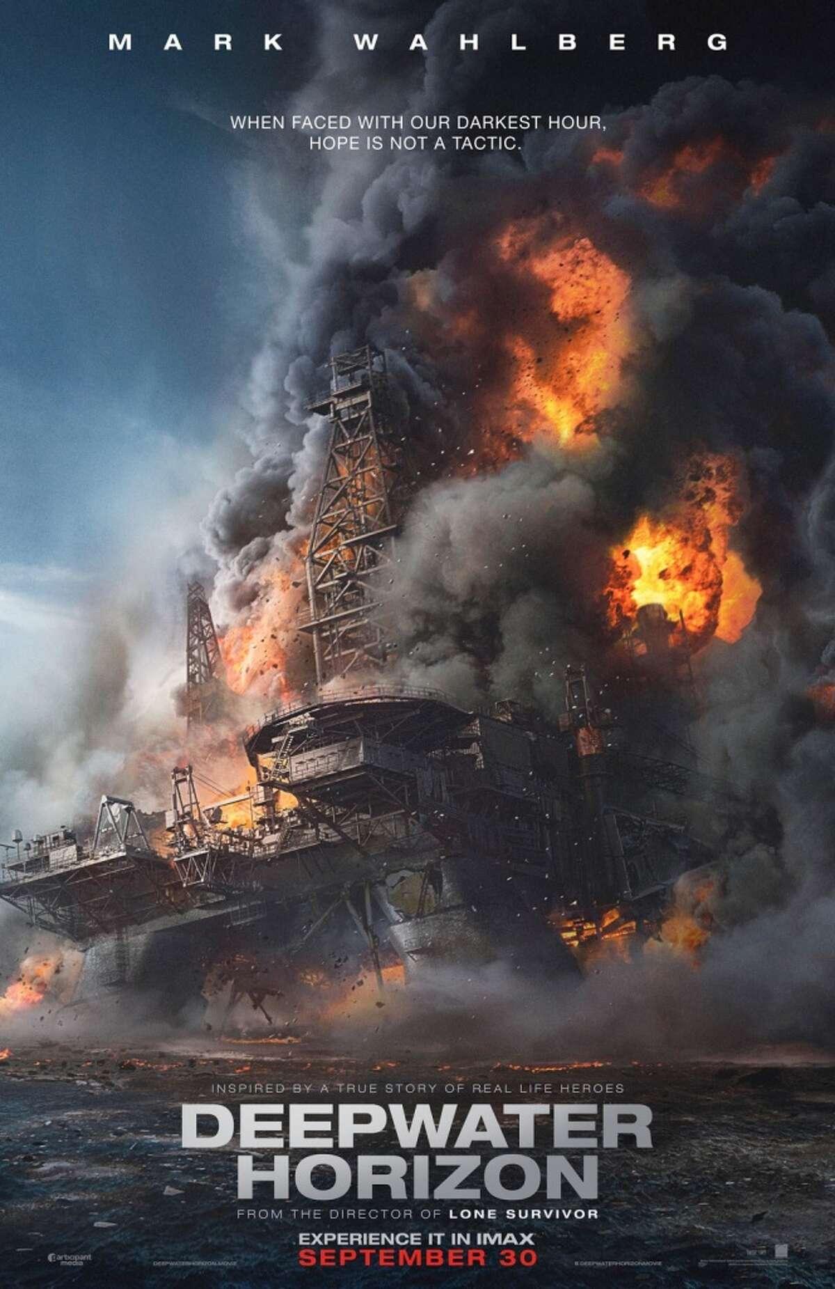 The Deepwater Horizon poster.