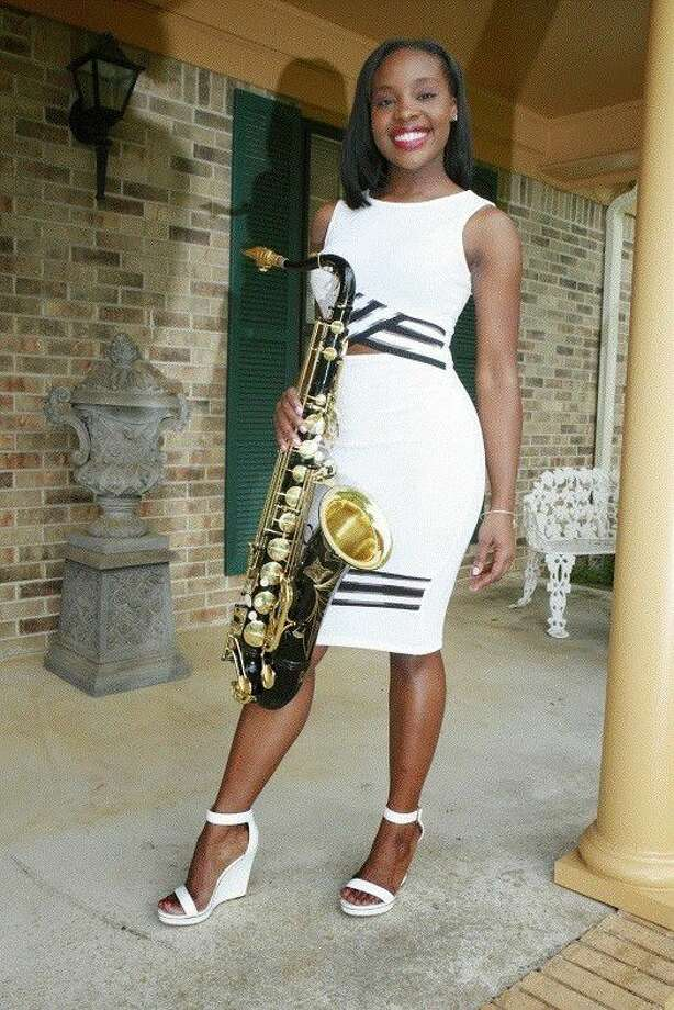 Jazmin Ghent is a 24-year-old saxophonist and will be featured at the 6th annual Red Cat Jazz Festival in Galveston on Mother's Day weekend May 5-8.