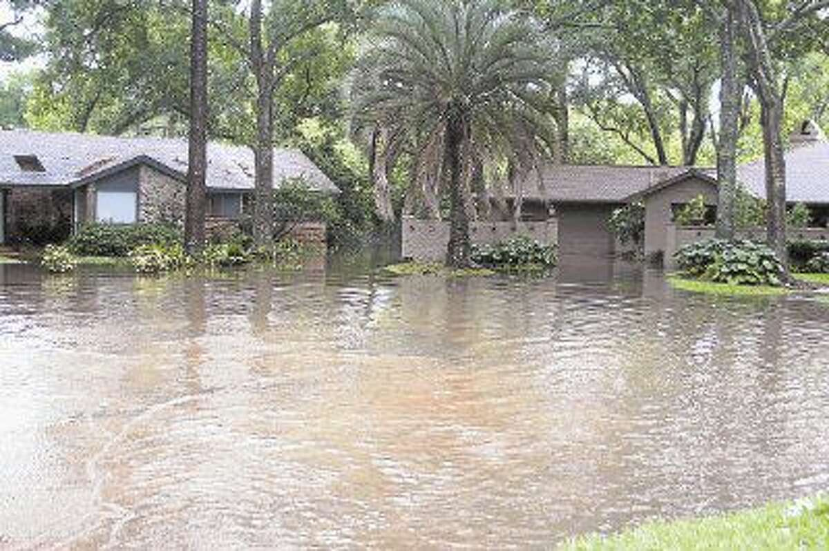 Homes throughout Spring Branch to Katy were inundated with flooding after the area received nearly 17 inches of rain on tax day, April 15.