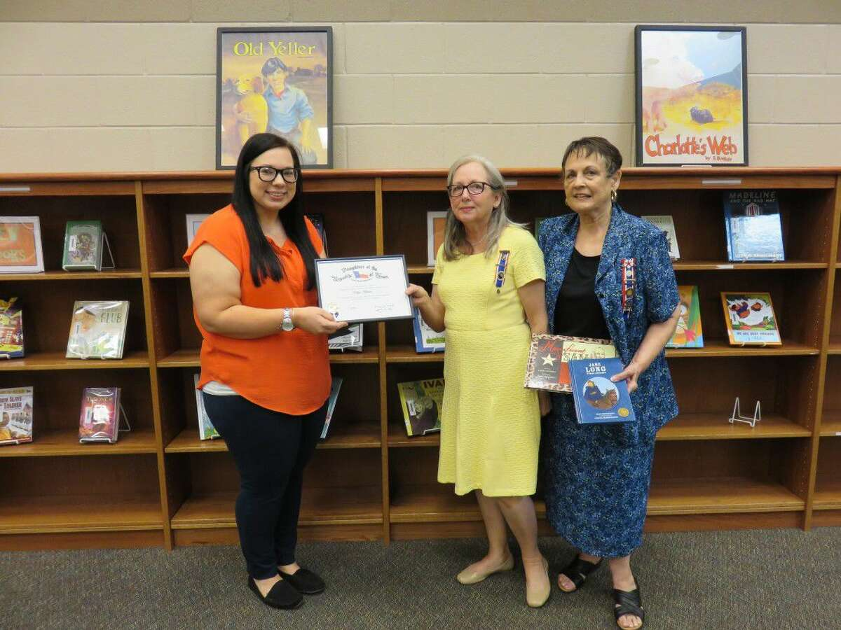On May 5, Splendora Independent School District's Kayla Adams was recognized as an