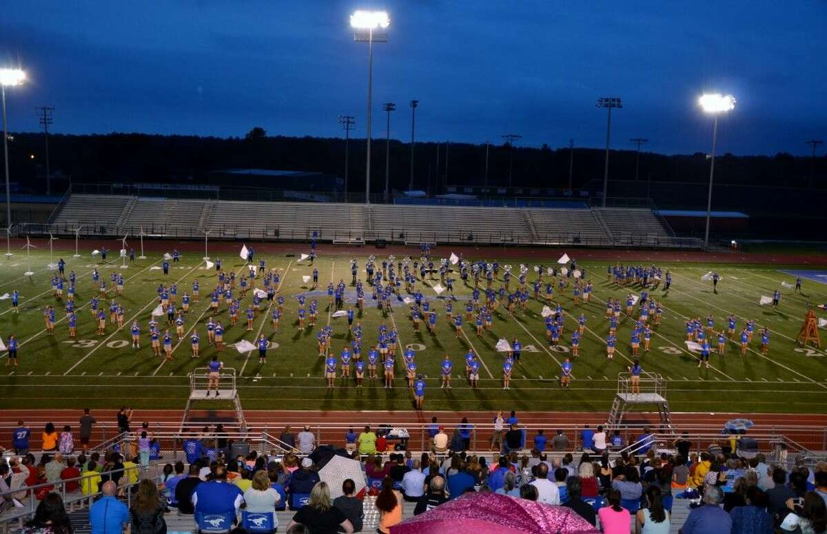 Band and Guard parents at Friendswood High School were given a special preview of the new band program at the Mighty Mustang Band's Annual Parent Night held recently.