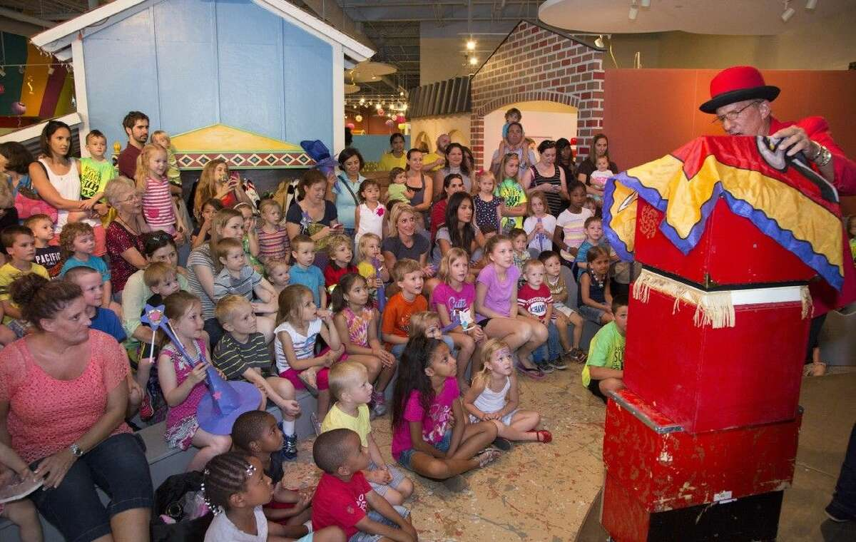 Prepare to be amazed at The Woodlands Children's Museum on Labor Day, Monday, Sept. 7, when the museum presents the magic of David Hinkin.
