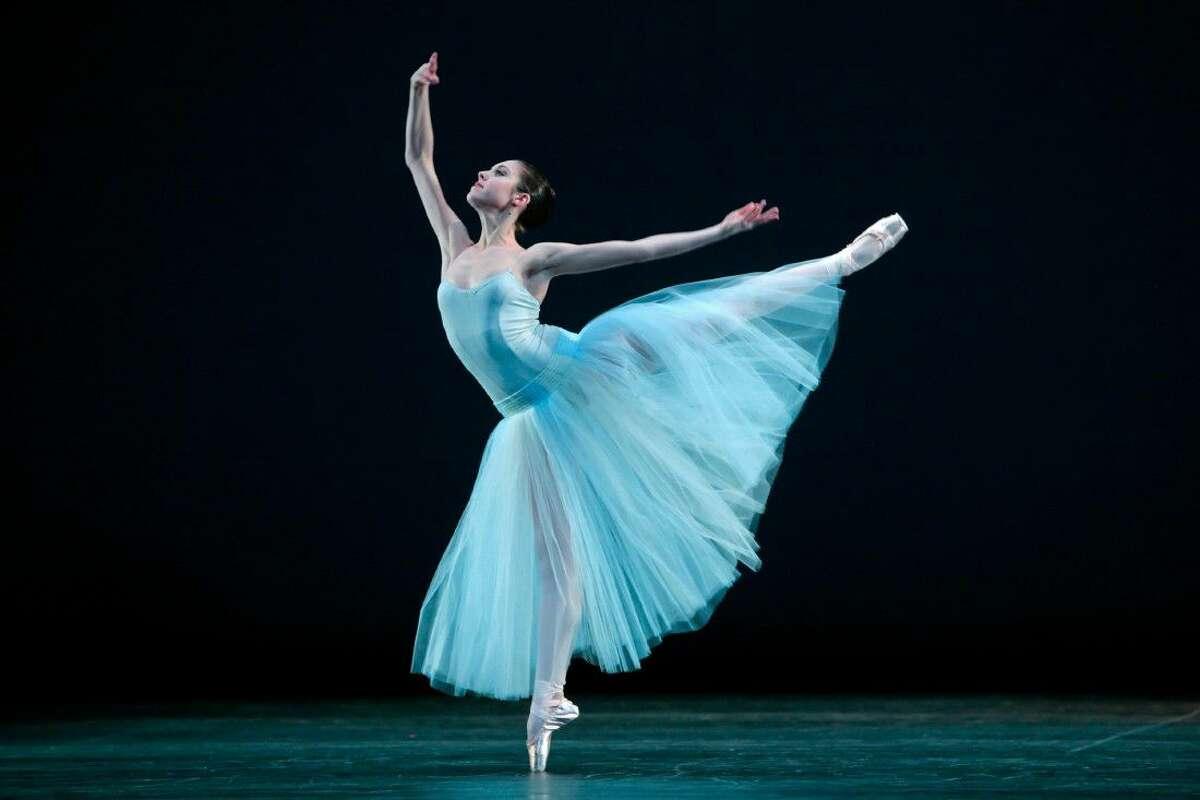 Katharine Precourt performs Serenade with The Houston Ballet. The Houston Ballet will perform its Spring Mixed Repertory Program May 26 through June 5.