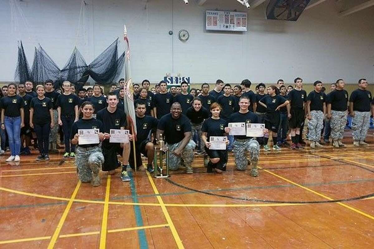 Sam Rayburn JROTC wins Pasadena ISD's Battle of the Bayou.