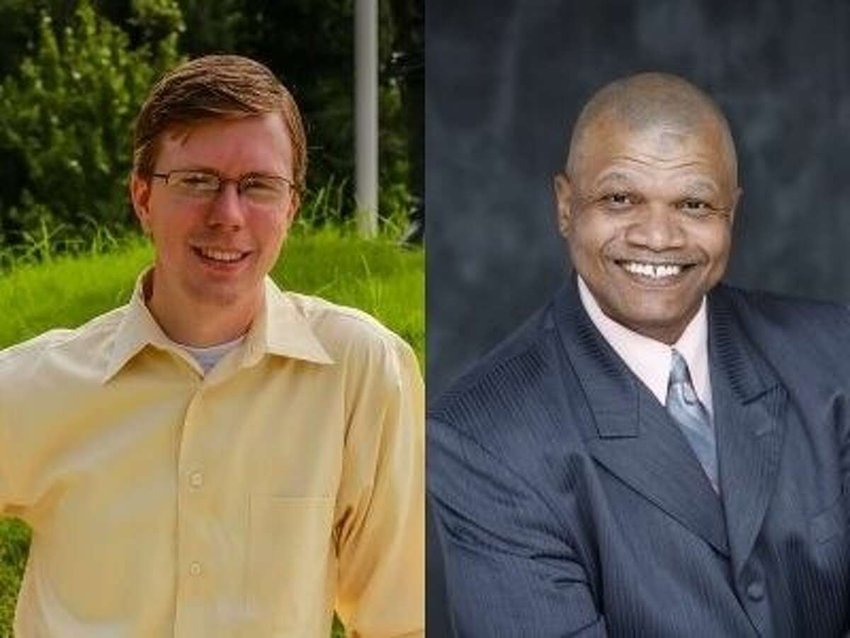 Will Metcalf, left, and Michael Hayles Sr., right, will face off for the state House District 16 seat Nov. 4.