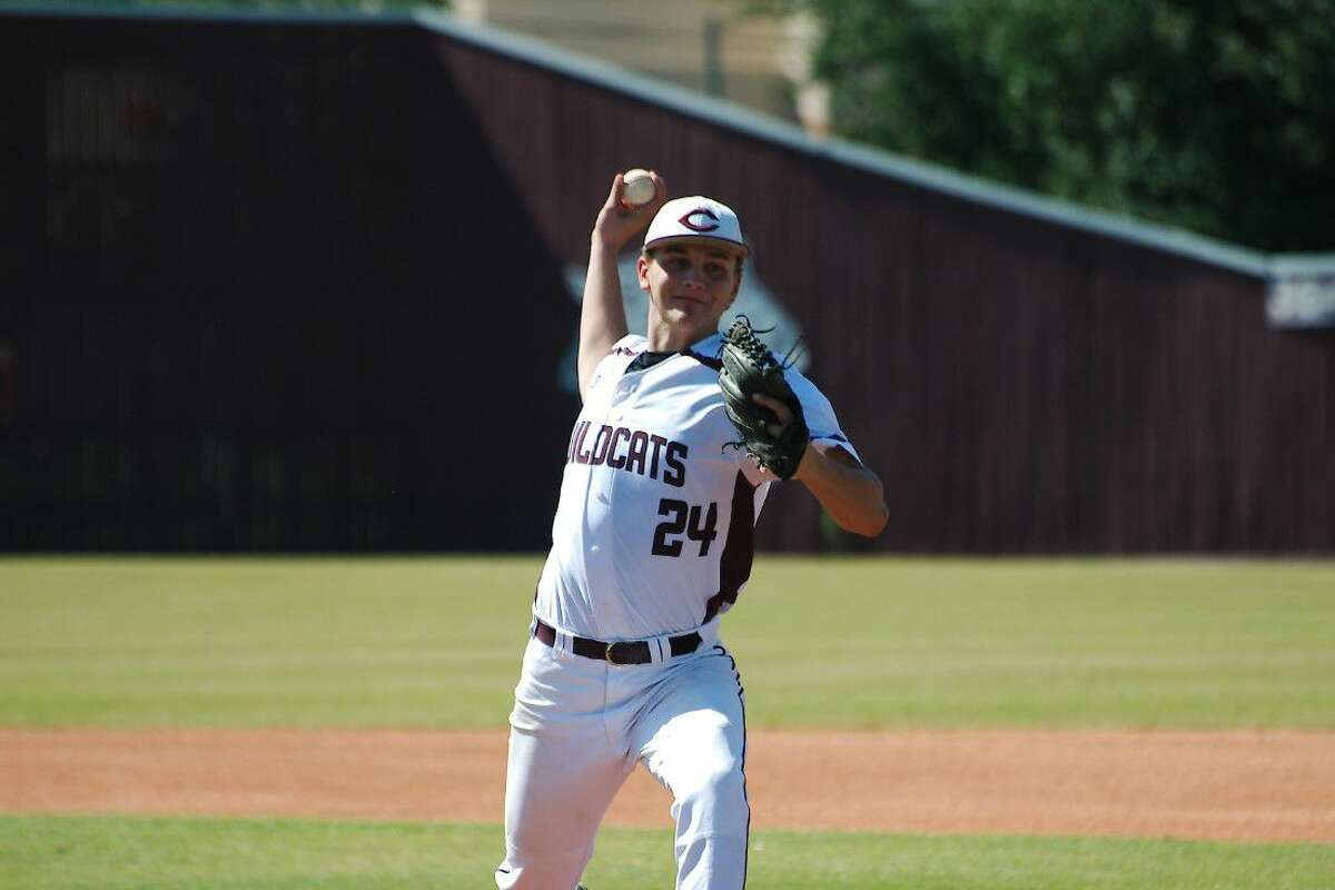 Clear Creek's Jason Jaekel (24) pitched a complete game Saturday against Fort Bend Austin.