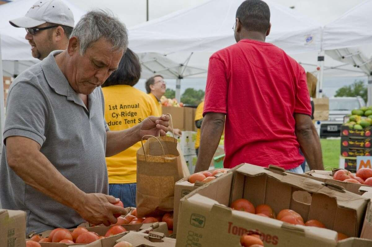 Locals bought fresh produce at rock bottom prices last year.