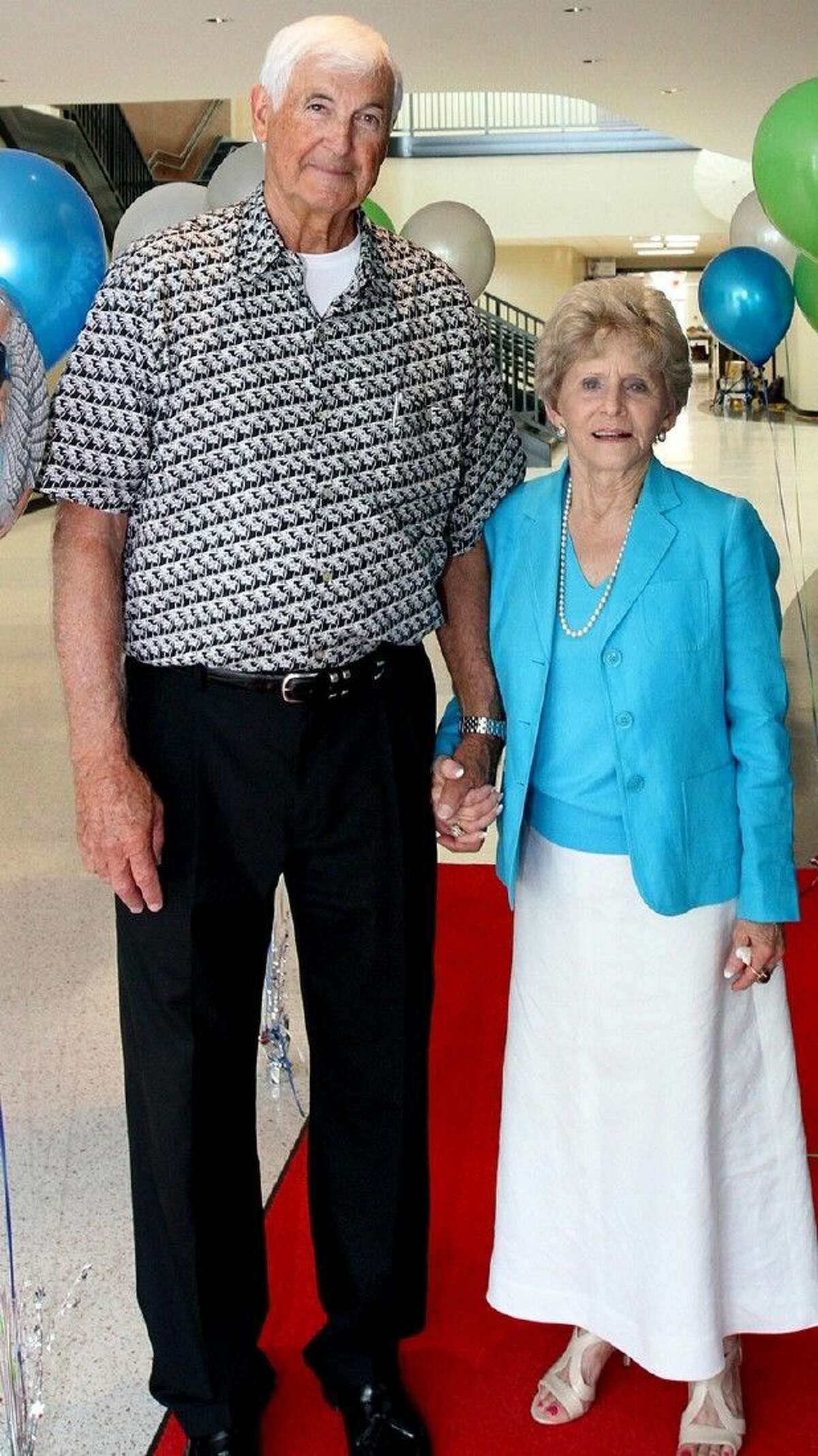 Pasadena ISD Board of Trustee member Marshall Kendrick and his wife, Denie.