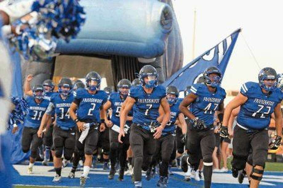 The Friendswood Mustangs look to improve to 2-1 when they host Humble Kingwood at 7 p.m., Friday. Photo: Kar B Hlava