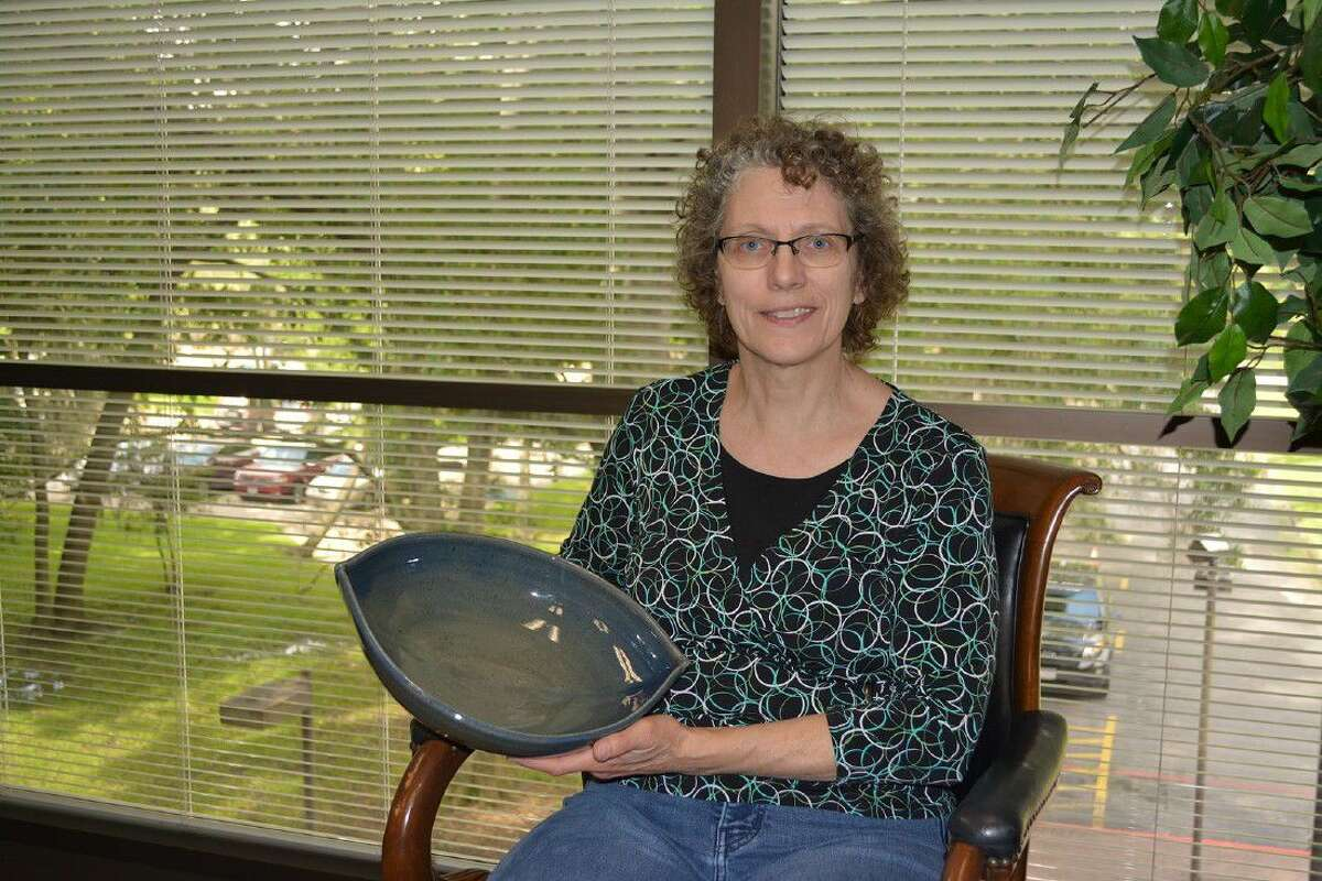 University of Houston-Clear Lake Art Gallery Assistant Director Karen Fiscus will help raise money to feed the hungry in Houston by selling the 130 bowls she created for the 12th Annual Empty Bowls Houston, a grassroots effort by local artists that allows them to sell hand-created bowls.