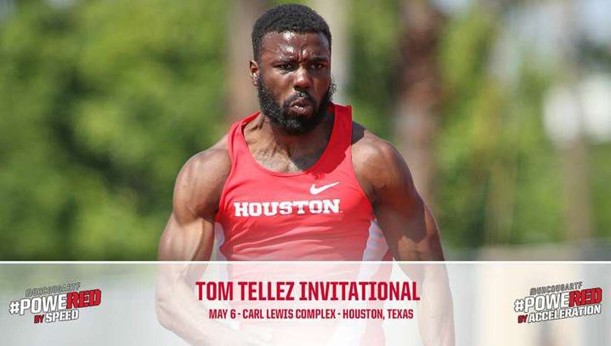 Ridge Point graduate and University of Houston sophomore Cameron Burrell booked his trip to the U.S. Olympic Trials by winning the 100-meters in a wind-legal 10.16 at the Tom Tellez Invitational. Burrell's time moves him to No. 7 on the NCAA list this season, and also set a stadium record, breaking the previous mark of 10.21 set in 2006 by Yhann Plummer.