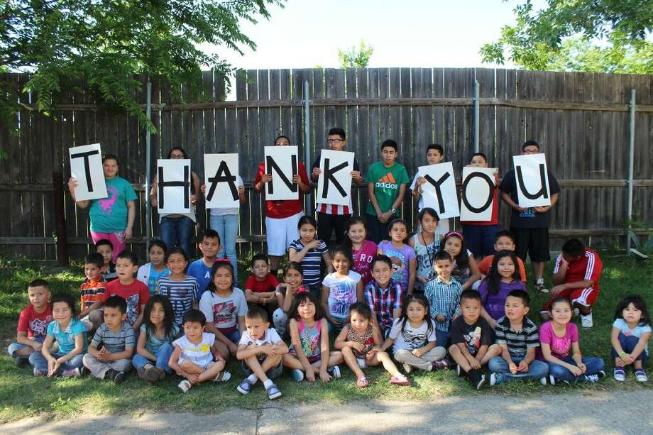 Students that attend the Hope Centers say thank you for the help they receive from Cy-Hope.