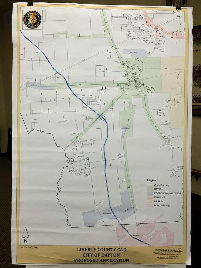 Dayton plans to annex 2,396 acres - Houston Chronicle