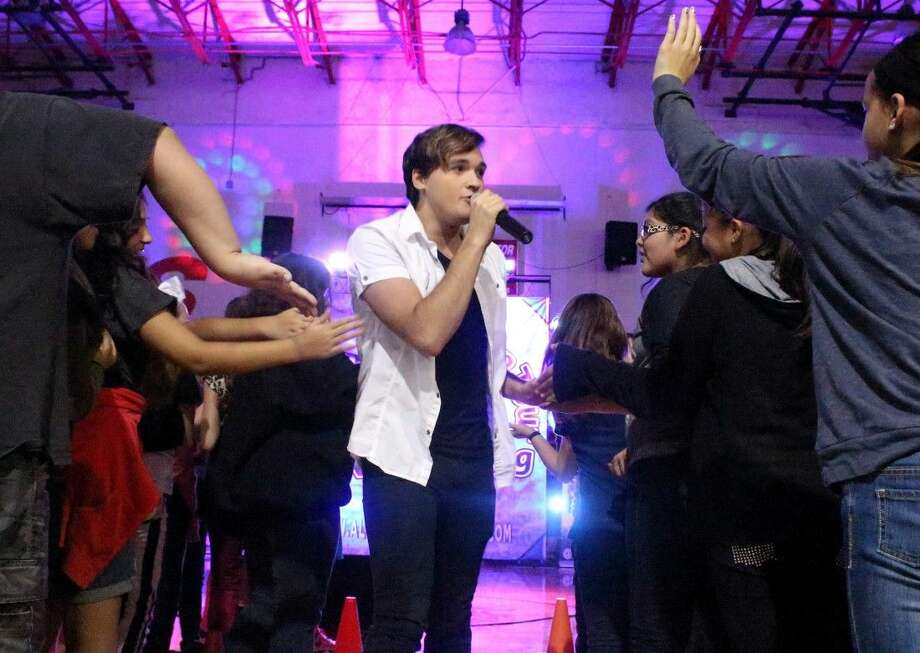 "New Caney native Branden Mendoza, who was a finalist on the television singing competition ""The Voice,"" was among those performing at an anti-bullying concert on Monday, Sept. 22, at Porter High School. Photo: Submitted Photo"