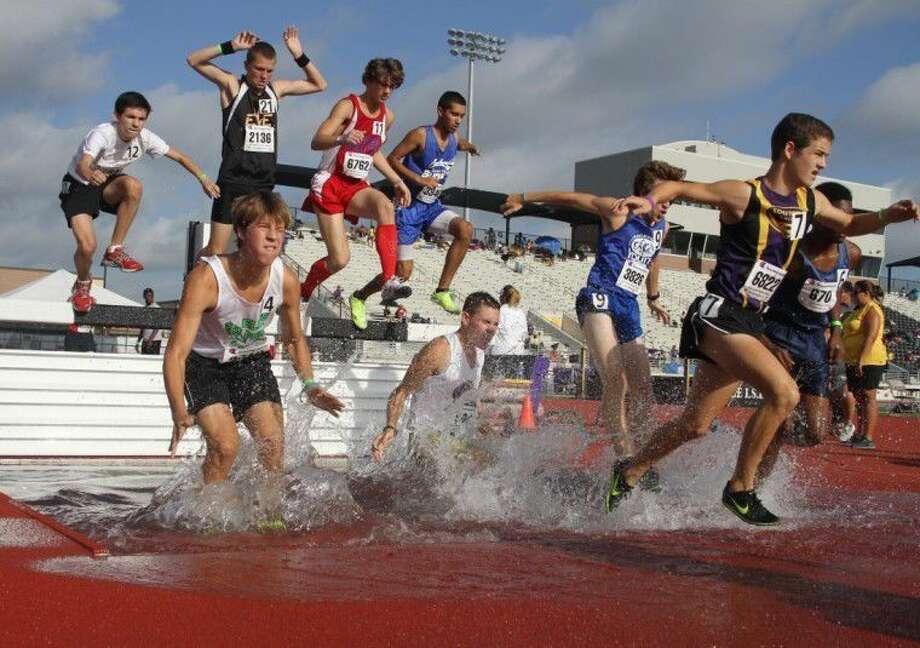 Runners compete during a past AAU Junior Olympics. This year's Junior Olympics will be held July 27-Aug. 6, 2016.