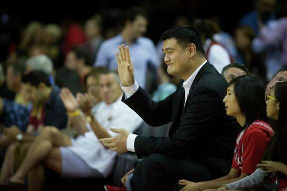 Even though Yao Ming has long since retired, the Hall of Famer's close association with the Rockets has helped make them a favorite team in China.
