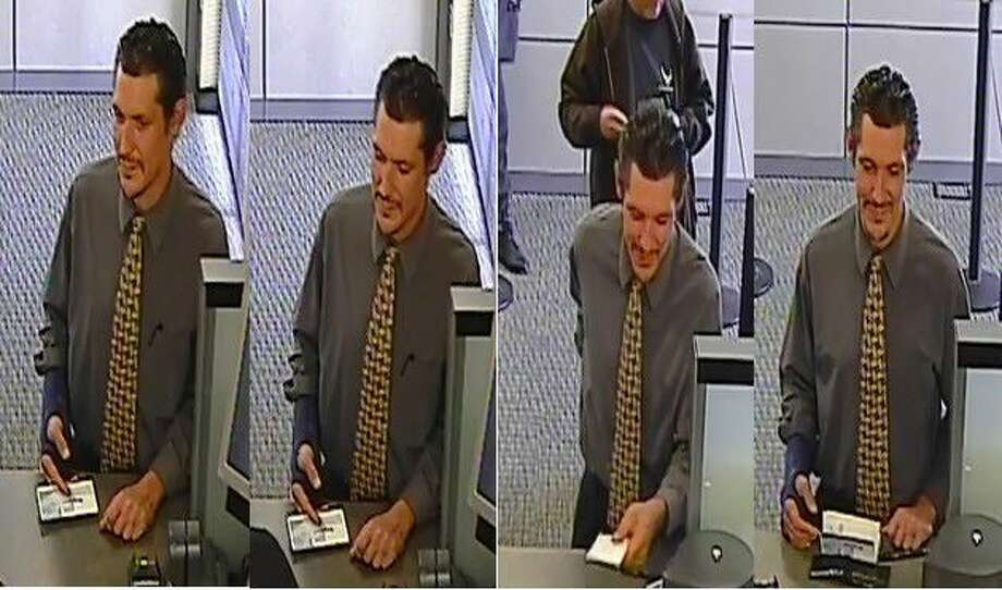 The Fort Bend County Crime Stoppers are searching for this man who cashed two forged checks against a victim's account. Total loss was estimated to be about $11,000.