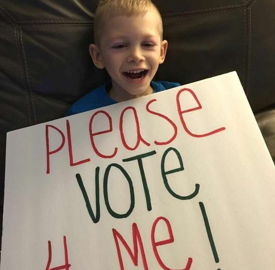 family is asking the community to vote for their campaign to win a wheelchair accessible van by Tuesday, May 31.