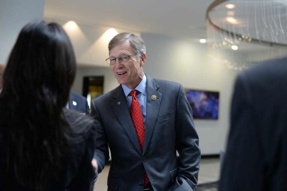 "Congressman Brian Babin toured the Hilton Houston NASA Clear Lake on Friday for a tour as part of the ""Heart Of The House."""
