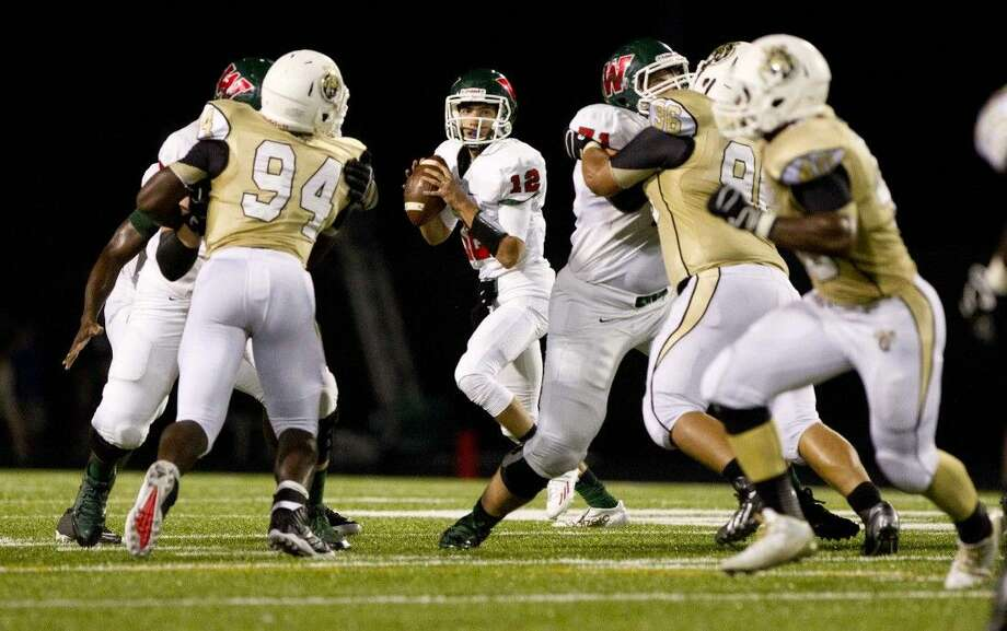 The Woodlands' quarterback Matt Bonaguidi and the rest of the Highlanders will face off against Klein Oak tonight.