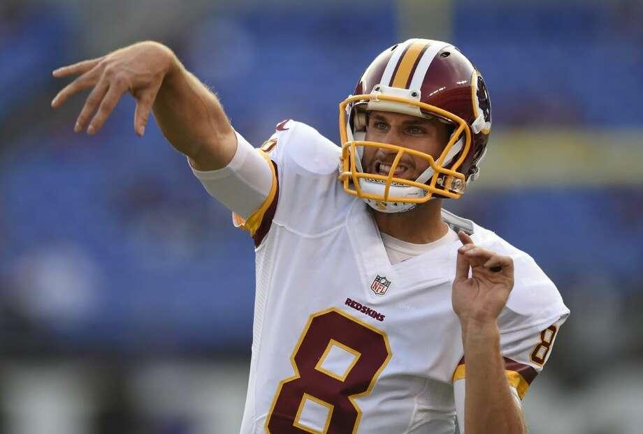 Kirk Cousins has been named the Redskins' starting quarterback.