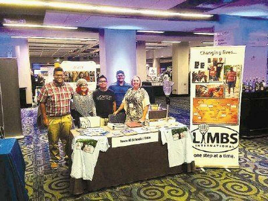 "HHS IB students Ivan Diaz, Andrew Legall, Faran Riyaz and Yesenia Vargas were invited to serves as LIMBS Ambassadors and speak about their service learning success at the International Baccalaureate Conference of the Americas in Washington, D.C. The four students developed and implemented a simple but very effective campaign called ""Out on a LIMB"" to raise money for LIMBS International, an organization that provides prosthetics to amputees around the world."