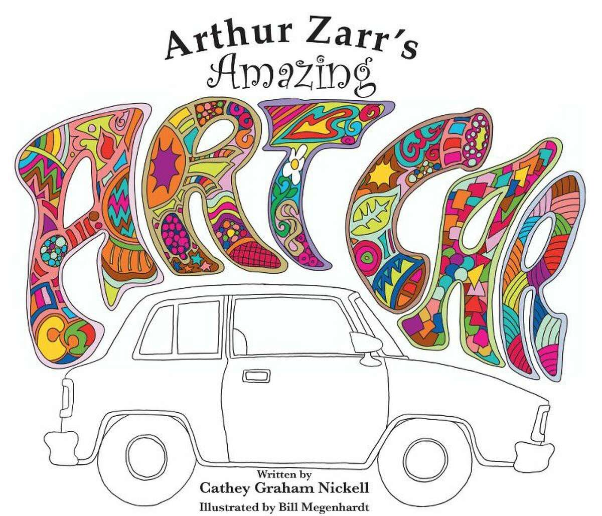 """Shown here is the front cover of Nickell's new book """"Arthur Zarr's Amazing Art Car."""""""