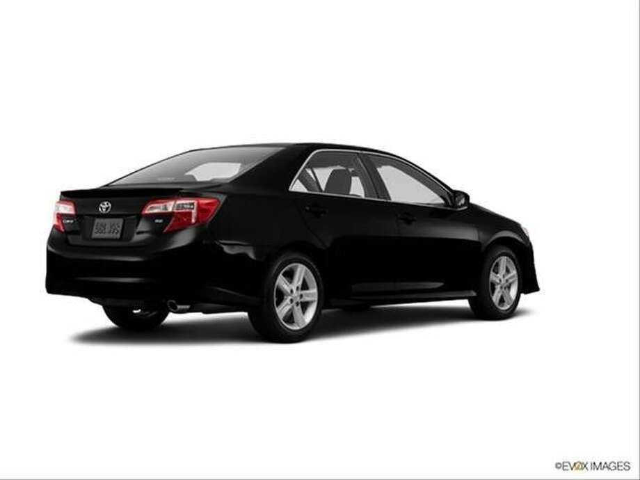A late model black Toyota Camry, similar to the vehicle used in commission of a burglary in the Greatwood subdivision on Sept. 18.