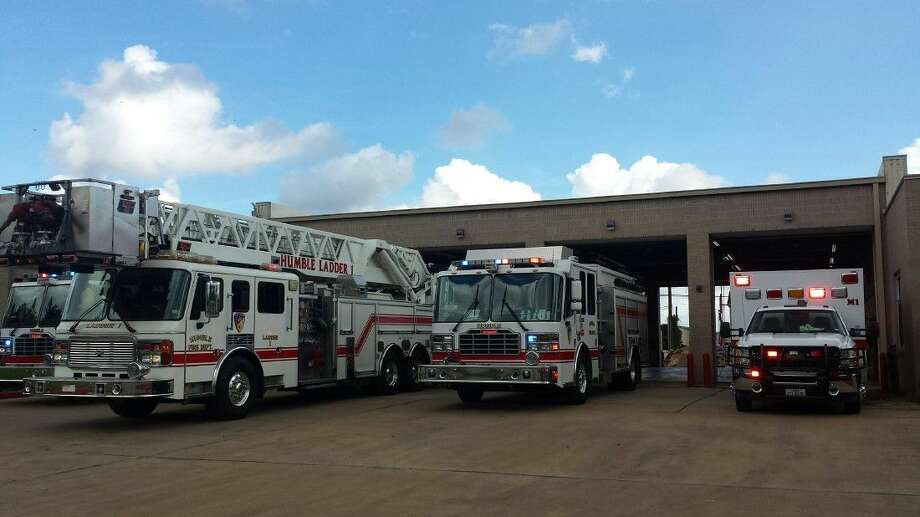 The city of Humble Fire Department and EMS took a moment at 11 a.m. Friday, Sept. 4, to turn on their lights in honor of fallen Harris County Sheriff's Office Deputy Darren Goforth.